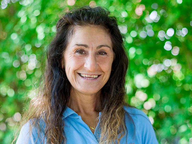 Donata Brehm ist eine examinierte Krankenschwester